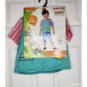 Nickelodeon Rugrats Character Phil Toddler Costume